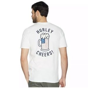 Hurley Cheers Tee 100 XL Men's New With tags NWT